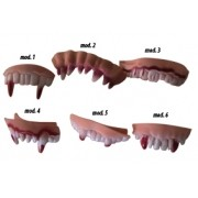 Dentadura Latex Monstro Mod 3 D+