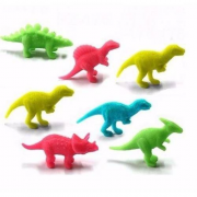10 Dinossauros mágicos que cresce na Agua x 6 o tamanho