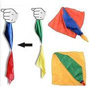 Double Color Changing Silks - Lenço Muda de Cor Coleção Fast Magic N 30 B+