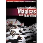 DVD - APRENDA INCRÍVEIS MÁGICAS COM BARALHO