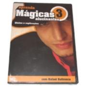 Dvd - Aprenda Mágicas Alucinantes Vol. 3 J+