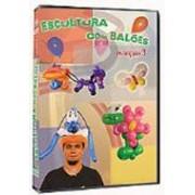 Dvd - Escultura Com Balões - Avançado 3 D+