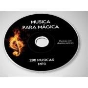 DVD - MUSICAS PARA MÁGICA - ROYALTY FREE MUSIC