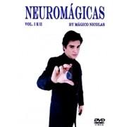 DVD - NEUROMAGICAS vol 01 e 02 - by Mágico Nicolas