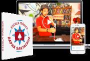 Escola Magica, aulas teoricas e praticas com Rapha Santacruz