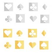 Espelhos Poker Gold D+