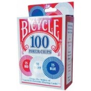 FICHAS BICYCLE 2g PLASTIC x100
