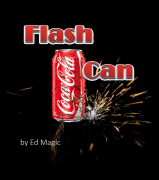 Flash Can By Ed Magic- aparição flash da caneta de coca cola ou fanta -  R+