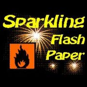 FLASH PAPER SPARKLING