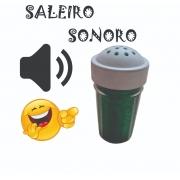 Gag Saleiro barulhento, saleiro sonoro que faz barulho