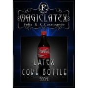 GARRAFFA DE  LATEX COCA COLA 500 ML