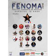 Ingresso para Festival de Mágicos(FENOMA) Dia 08/09/18