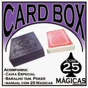 KIT BARALHO + CARD BOX -  25 magicas