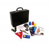 Kit de magicas o Profissional Luxo - 19 acessórios - a partir de 12 anos -   Case de Couro R+