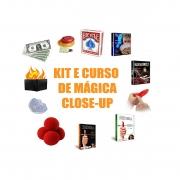 kit e Curso de Mágica Close-Up