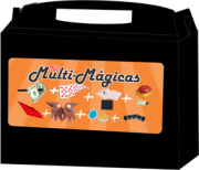 Kit de magicas Multi-Mágicas Magic Up- 6 acessórios - a partir de 8 anos B+