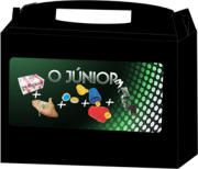 Kit de mágicas o Júnior 3 - Magica para iniciante R+