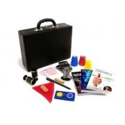 Kit de magicas o Profissional Luxo - 20 acessórios - a partir de 12 anos -   Case de Couro