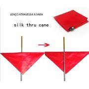 Lenço Seda Atravessa A Vara - Silk Thru Cane proline 8 B+