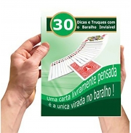 Livreto 30 Dicas E Truques Do Baralho Invisível D+