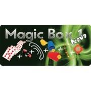 Kit de magicas Magic Box 1 - a partir de 6 anos - com moeda houdini  (mod 2)
