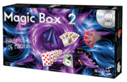 Kit de magicas Magic Box 2 - a partir de 9 anos com caneta que fura e moeda surpresa  (MODELO 2) B+