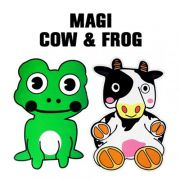 Magic Cow and Frog b+
