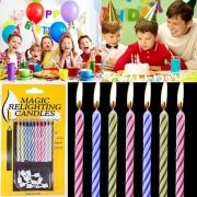MAGIC RELIGHT CANDLES (1 PACK OF 10)