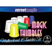 Magic Thimbles Set 16 Coloridos vernet dedais magicos B+