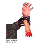 Mão Magica - braço mão do terror Latex -  Luva C/ Braco mix reynold B+ up