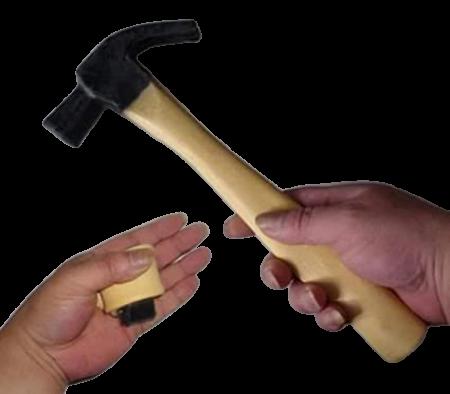 Martelo Deluxe Latex Hammer