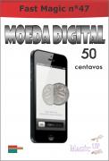 Moeda Digital de 50 Centavos B+