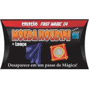 Moeda Houdini - Cristal Coin Case - Coleção Fast Magic N 04