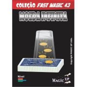 Moeda infinita do baralho bicycle - Coleção Fast Magic N 43