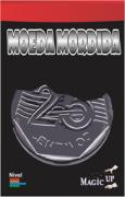 Moeda Mordida 0,25 centavos prata - Coleção Fast Magic N°51 B+