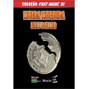 Moeda Mordida half dolar versão economica  - Coleção Fast Magic N 51 R+