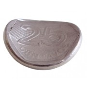 MOEDA QUE ENTORTA - 0,25 PRATEADA - bending coin