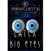Olhos Grandes Latex Big Eyes Par G+