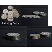 PALMING COINS  X5 - MOEDA PARA EMPALMAGEM HALF DOLAR