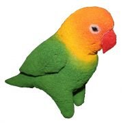 Papagaio De Esponja  - Sponge Espuma Verde R+