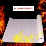 PAPEL FLASH (FLASH PAPER) -01 FOLHA