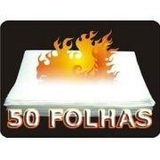 PAPEL FLASH (FLASH PAPER) - 50 FOLHAS