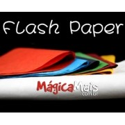 Papel Flash - Flash Paper - Cores Variadas Importado - Alta Qualidade G+