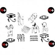 Papiro encantado - As de ouros revelação com papel flash