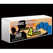 PARASOL ANYWHERE BOX SET BLUE 4 unidades