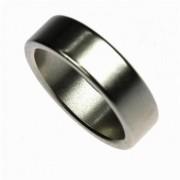 Pk ring prata  liso tamanho variado B+