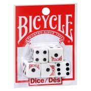 conjunto de 5 dados Bicycle - Poker Dice Set x 5 Bicycle Dice B+