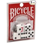 Poker Dice Set x 5 Bicycle Dice