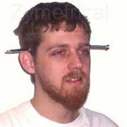 Prego Na Cabeça - Nail Thru Head. F+