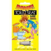 Privada Explosiva - Bang Toilet Seat e Duas Cartelas de Espoletas